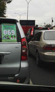 Jalan Raya Malang Surabaya Macet